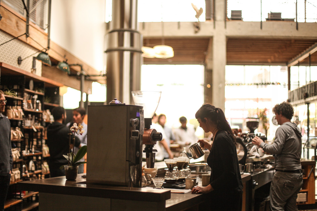 Catch a glimpse of Sightglass Coffee. Photo: Bill Couch/Flickr via Creative Commons