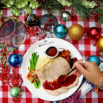 brick lane Christmas catering menu
