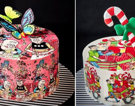 Ms B's CAKERY Debuts Festive Cakes Inspired by HK's Classic Comics