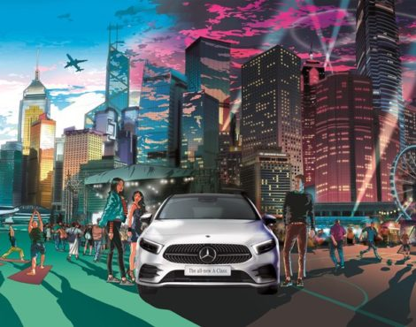 Mercedes Benz Launches New A-Class with BAM Festival: June 30, 2018