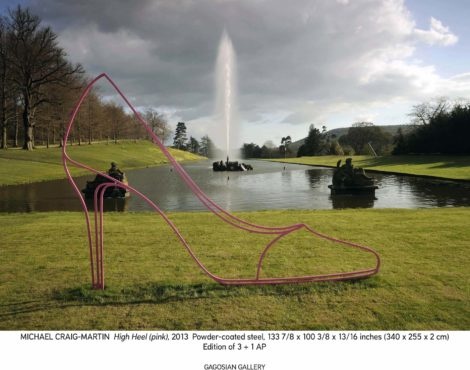 Michael Craig-Martin sculpture makes Asia debut at The Peninsula fountain