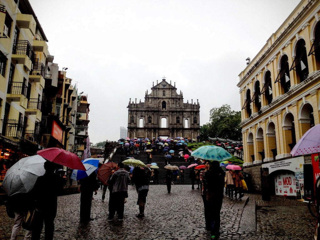 St Pauls Cathedral, Macau