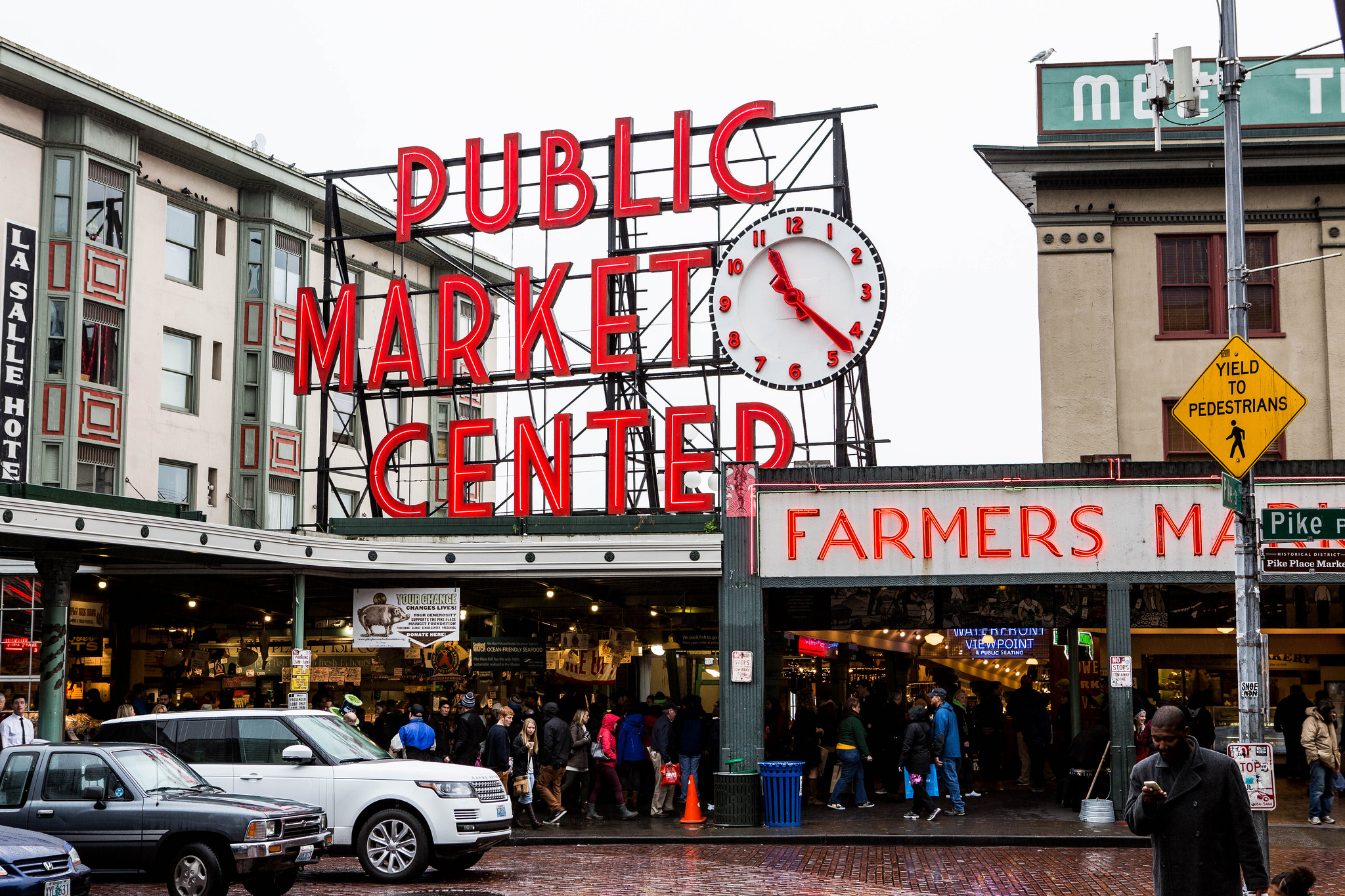 Pike Place Market. Photo: Suman Chakrabarti / Flickr CC