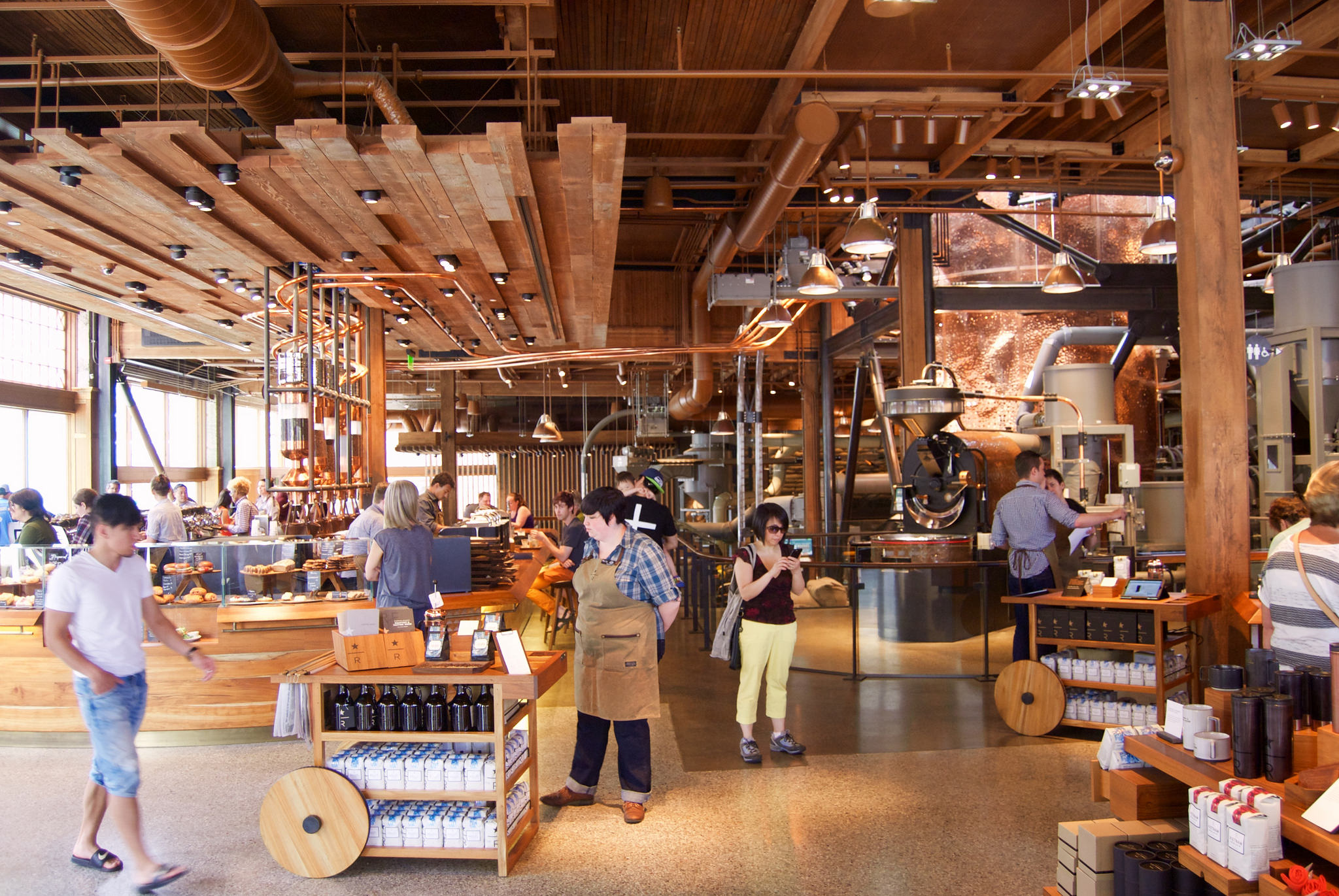 Starbucks Reserve Roastery. Photo: Nick Amoscato / Flickr CC