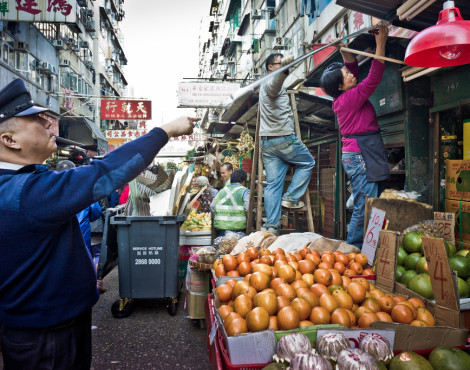 Hong Kong's Disappearing Hawker Culture
