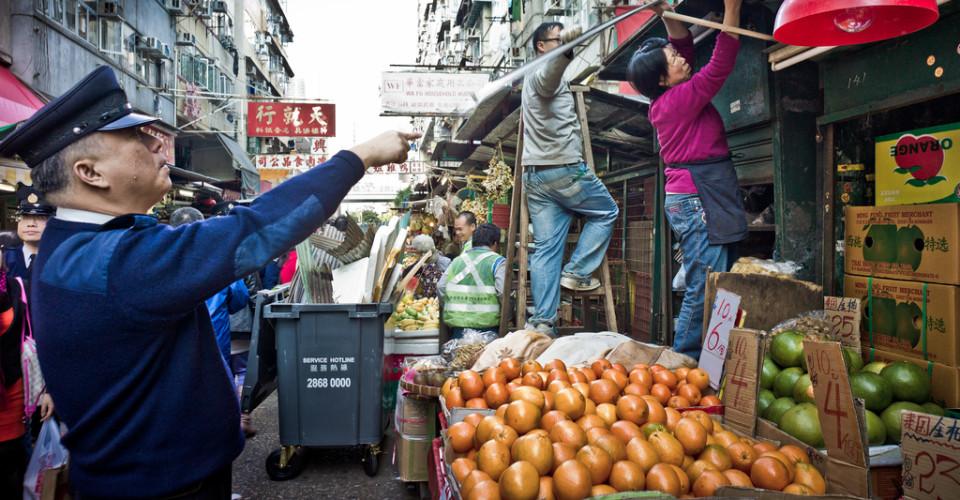 Hong Kong Hawker Stall