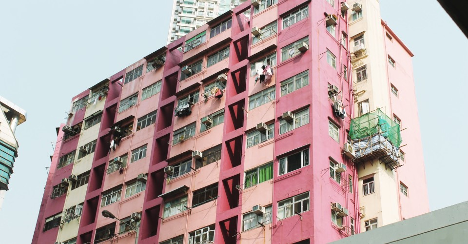 Pink Apartments Hong Kong