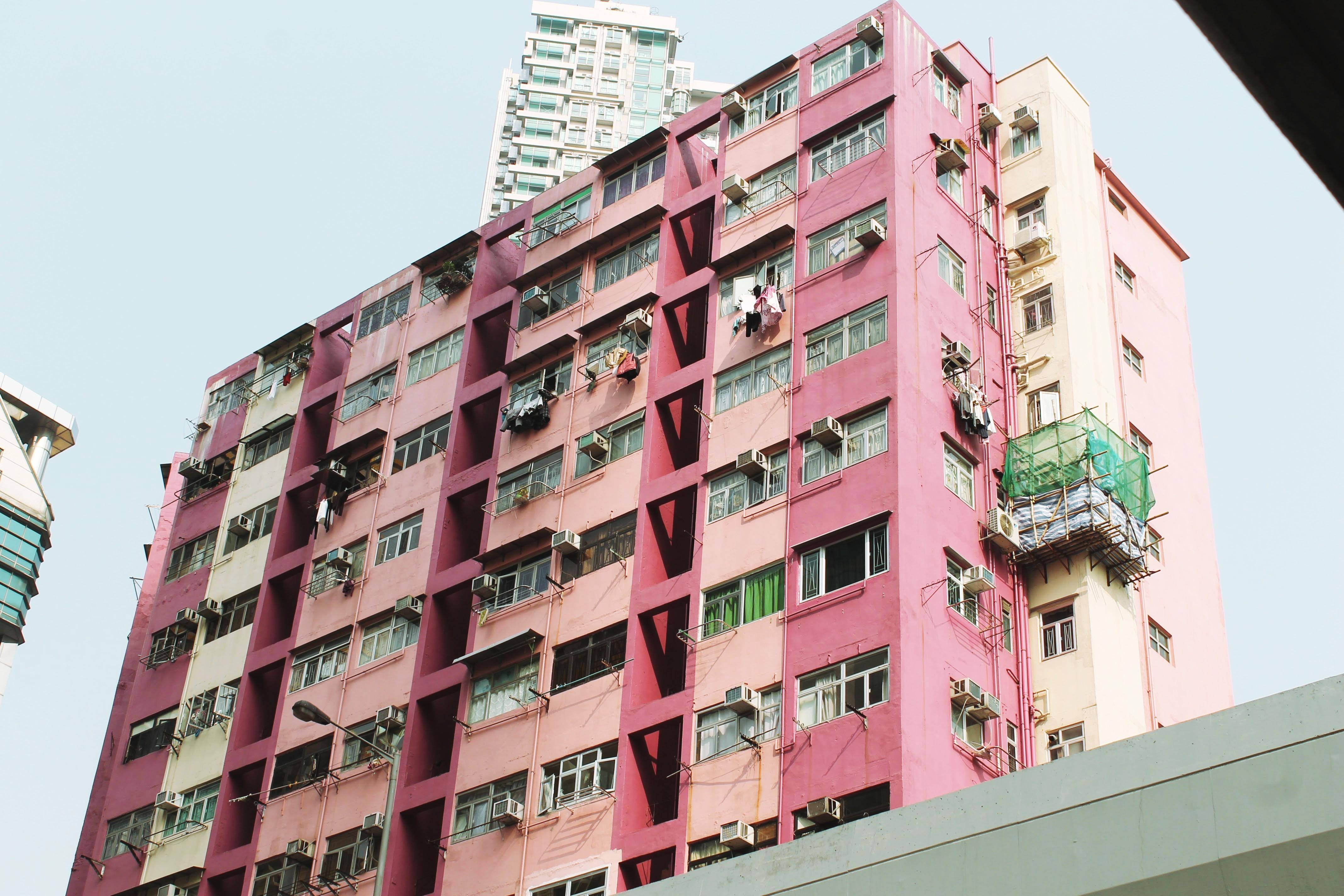 Pink Apartments Hong Kong