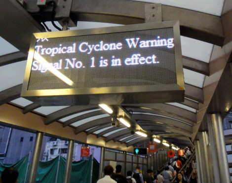 Hong Kong's Typhoons and Tycoons