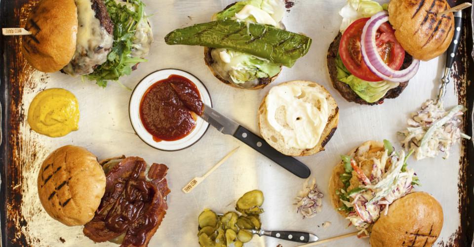 Beef and Liberty - Double Patty Cheese Hamburger - Bacon Cheese Hamburger - Chicken Hamburger - Classic Hamburger