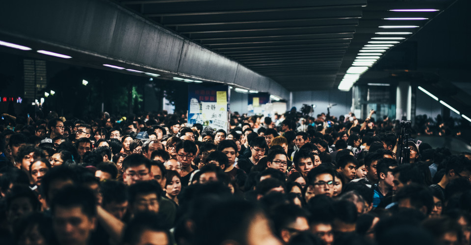 Crowded Hong kong - CREDIT hurtingbombz Flickr