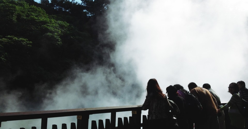 It's getting steamy at the Beitou Hot Springs
