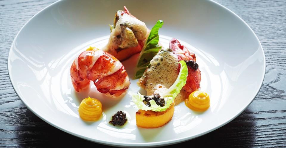 AbSt_Social_Butter_Poached_Lobster_Vanilla_Orange_butternut_Squash_Fennel_black_Truffle_Dressing