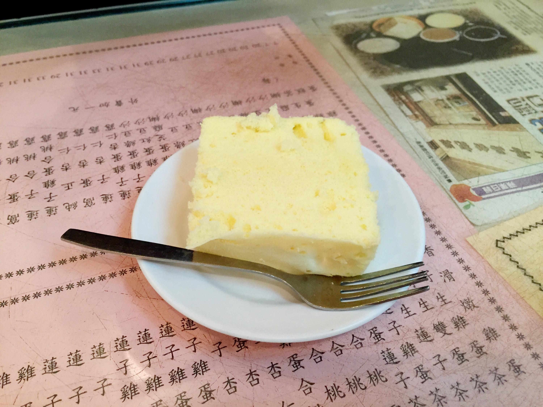 Egg sponge cake from Yuen Kee.
