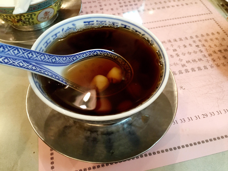 Mulberry mistletoe tea from Yuen Kee.