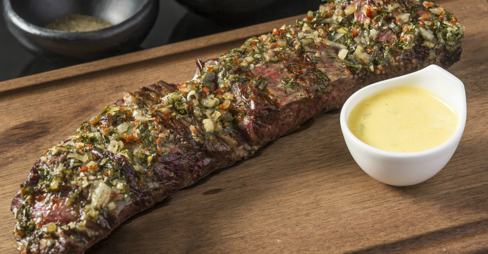 Tira De ANcho - Spiral cut, slow grilled with chimichurri-theloop