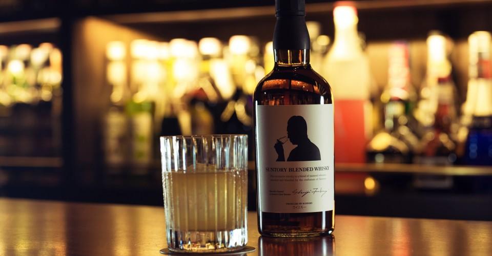 Suntory Whisky with Backshelf_Fotor