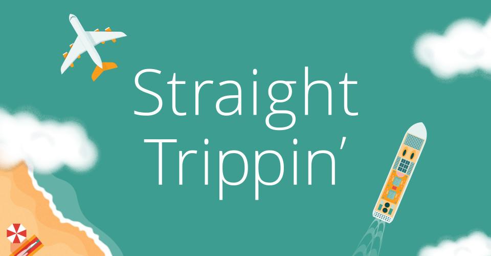Straight Trippin' Travel Column. Illustration: Ryan Chan