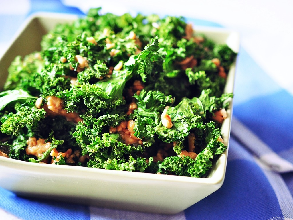 Go green, eat kale