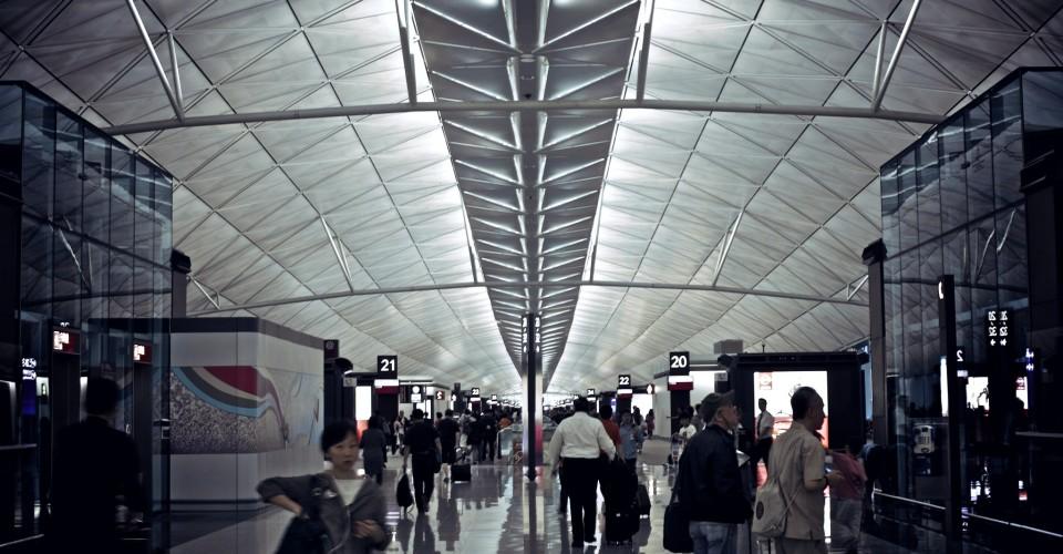 Hong Kong International Airport Photo: ¡kuba!/ Flickr