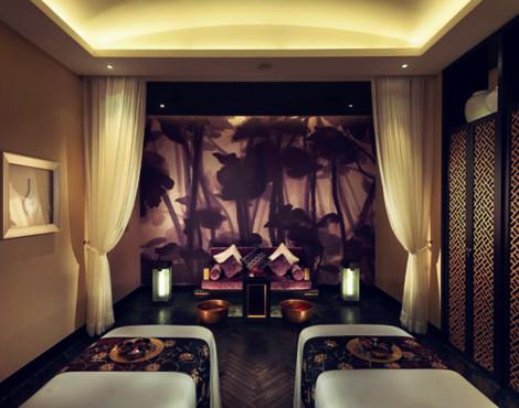 Couple's spa at the Mandarin Oriental Guangzhou