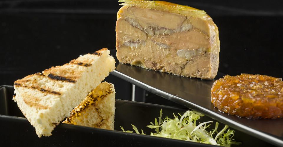 L'altro - Foie Gras & Smoked Eel Terrine, Onion Marmalade and Brioche (4)