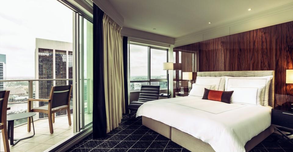 Swissotel's Signature Skyline Balcony Room