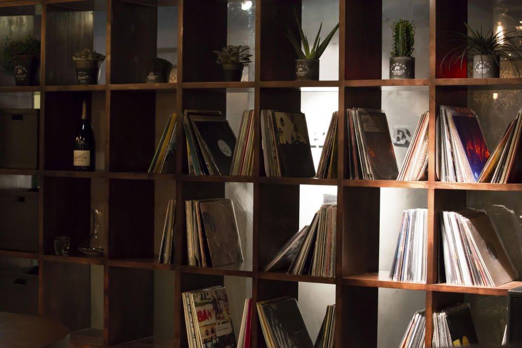 MyHouse's ever-growing collection of vinyl records