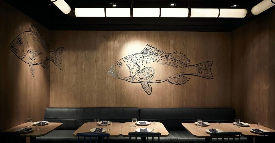 Fish School Fish Wall