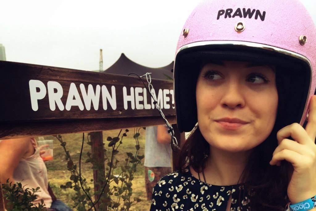 Clockenflap Prawn Helmet
