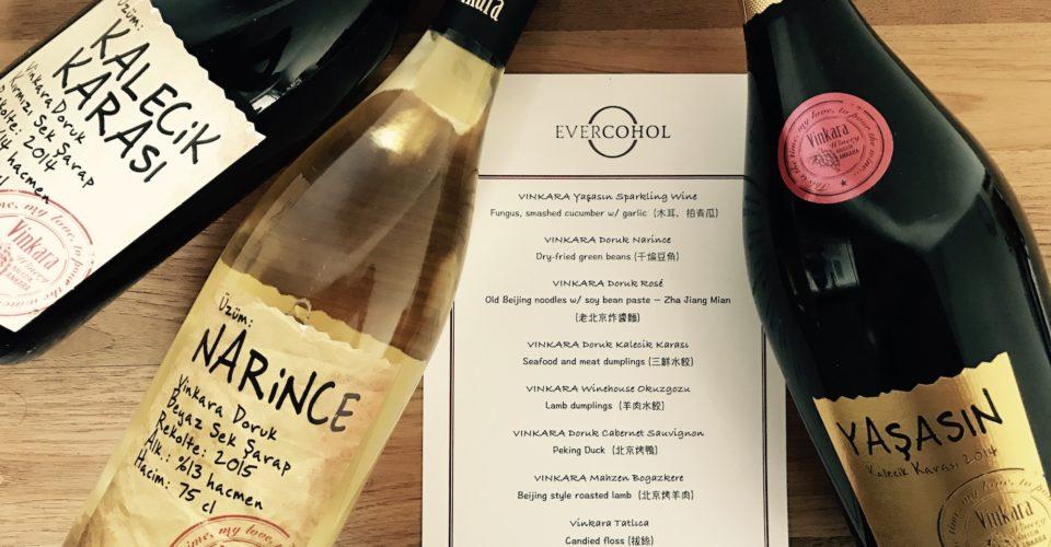 Turkish Wine Dinner with Evercohol