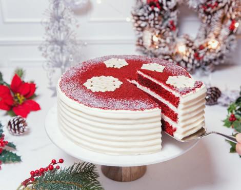 Lady M offers red velvet cake