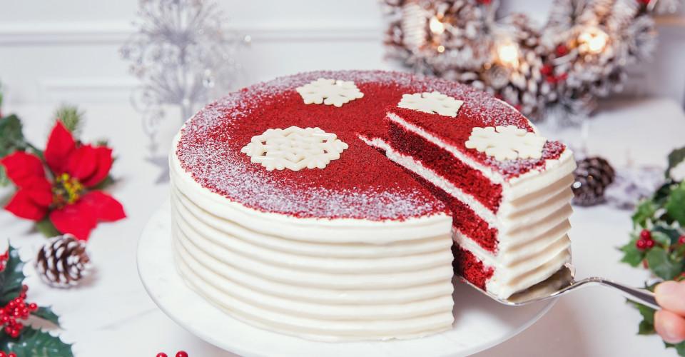 Lady M red velvet cake