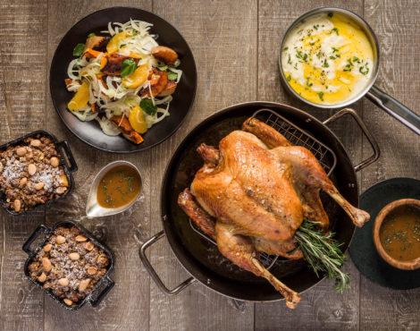 Christmas Turkey Takeaway Set by Woolly Pig Hong Kong Nov 15-Dec 15, 2017