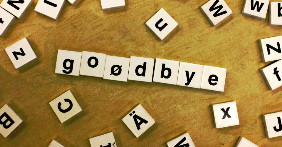 Goodbye Scrabble. Photo: Woodleywonderworks/Flickr
