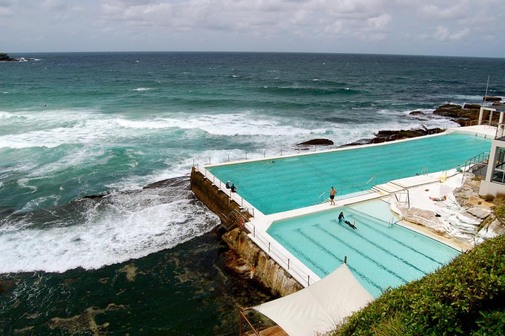 Sydney Bondi Beach Icebergs. PHoto MickiTakesPictures FLickr Cc