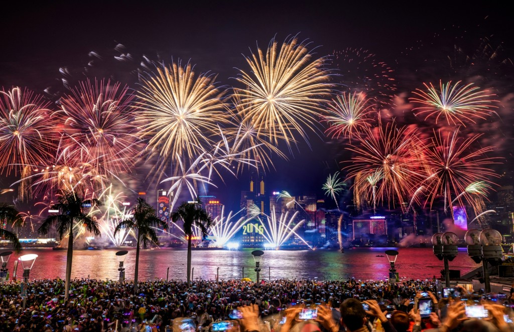 New Years Countdown Hong Kong 2016. Photo: Hong Kong Tourism Board
