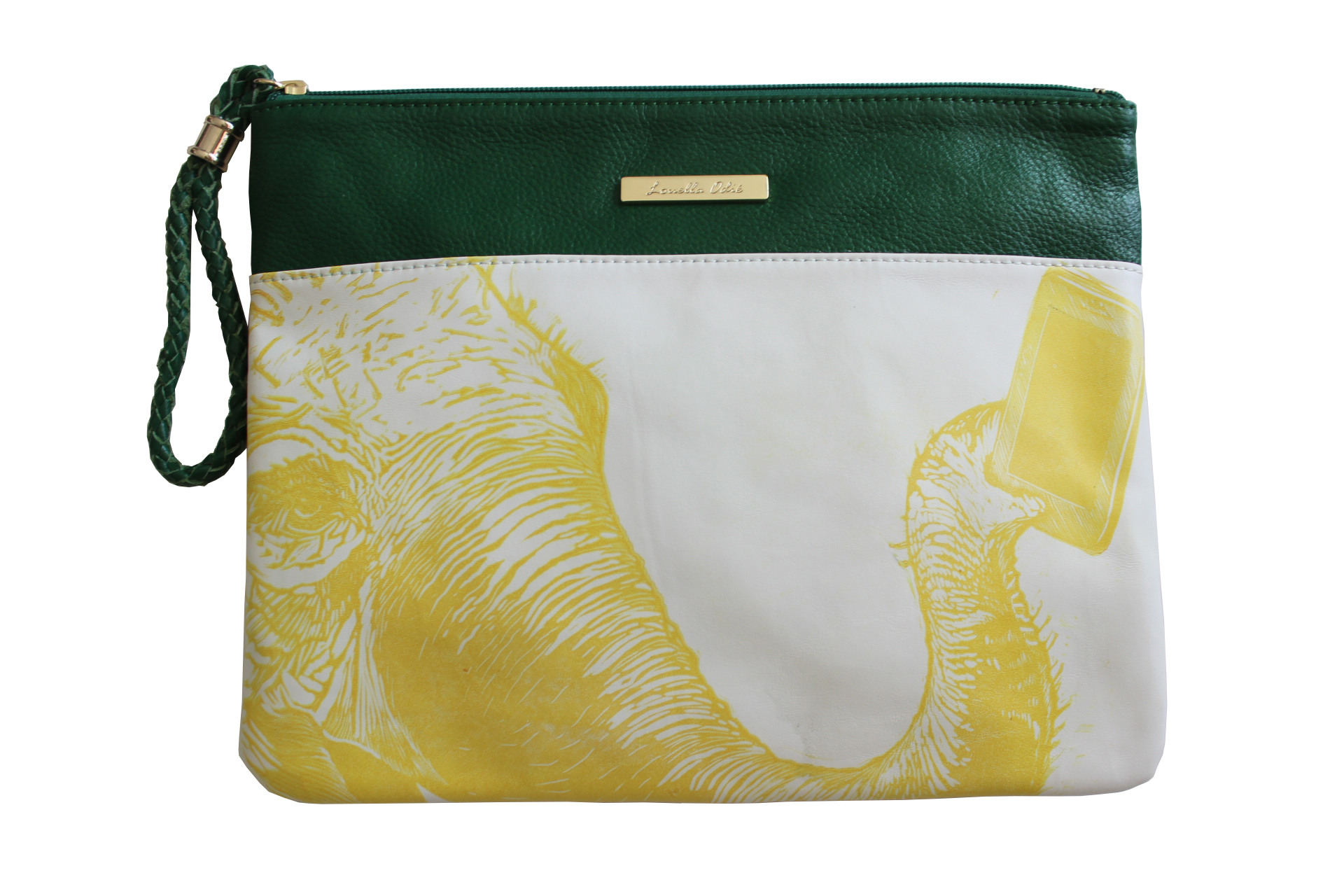 Louella Odie - Elephant Selfie Leather Pouch