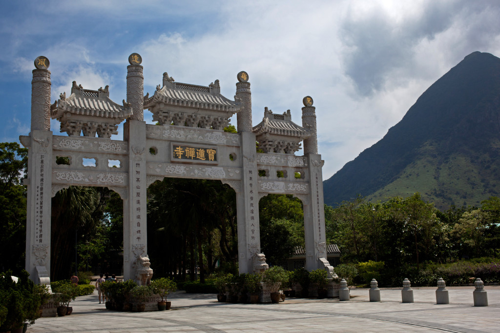 Po Lin Monastery in Lantau. Photo: Chris Brown / Flickr