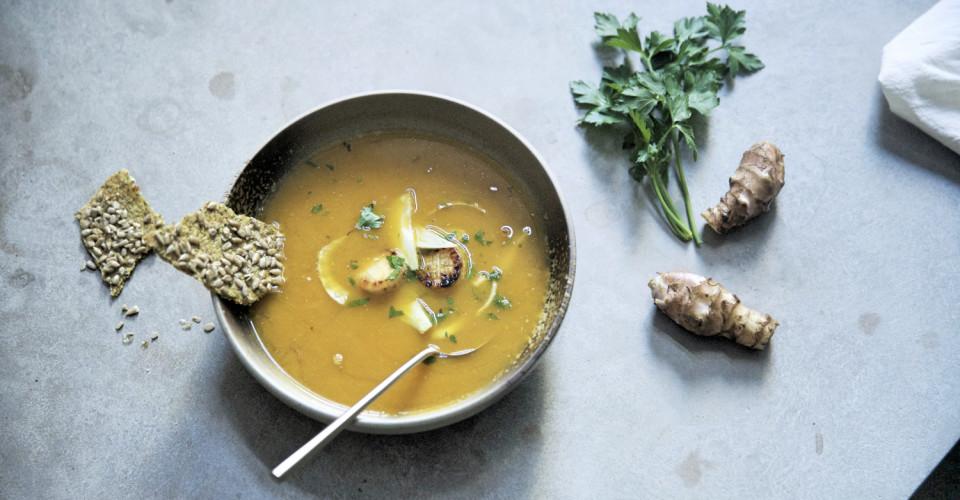 Pumpkin Bouillabaise Grassroots Pantry