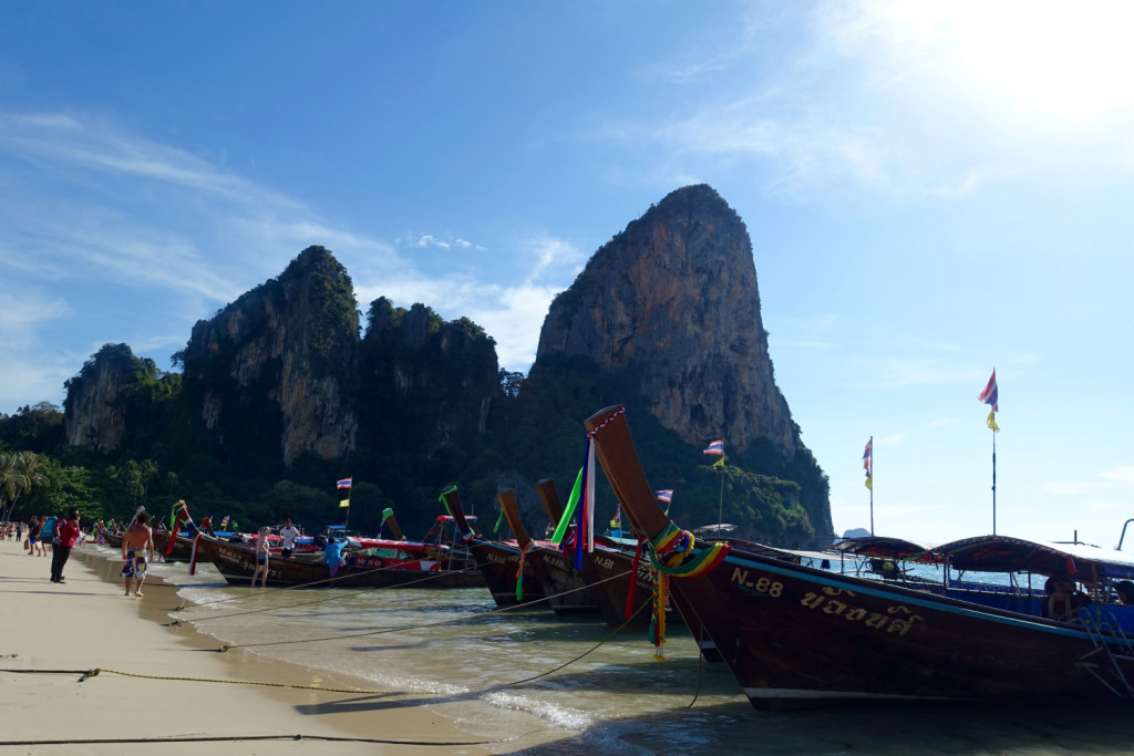 Longtail Thai Boats