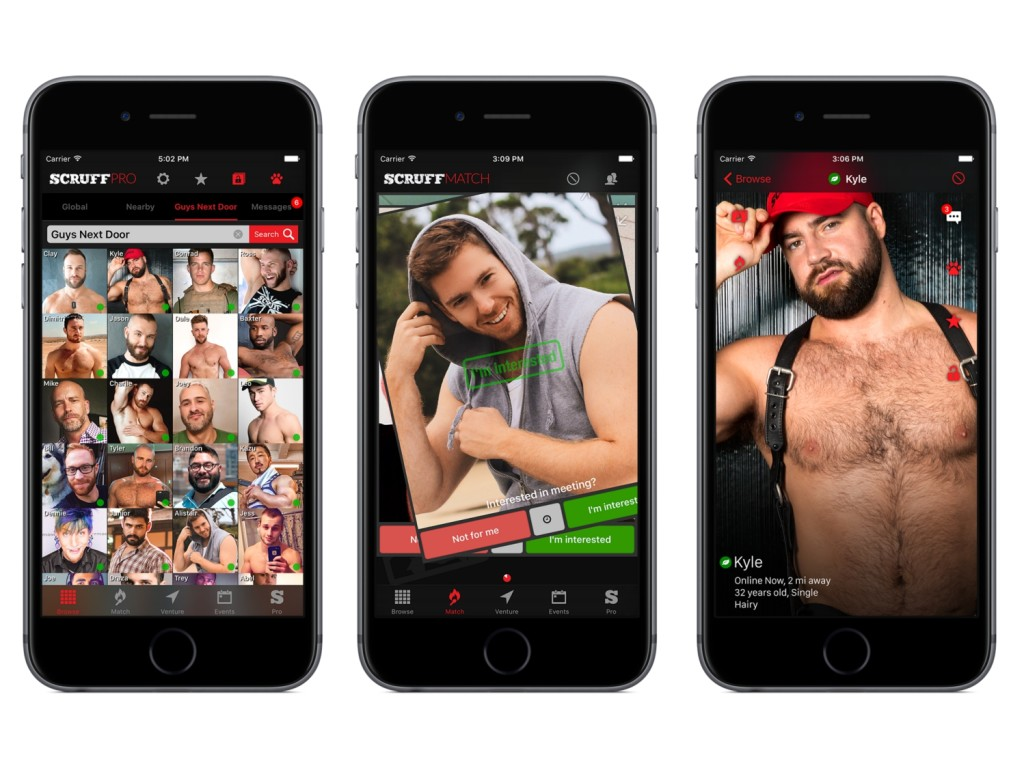 French gay hookup app