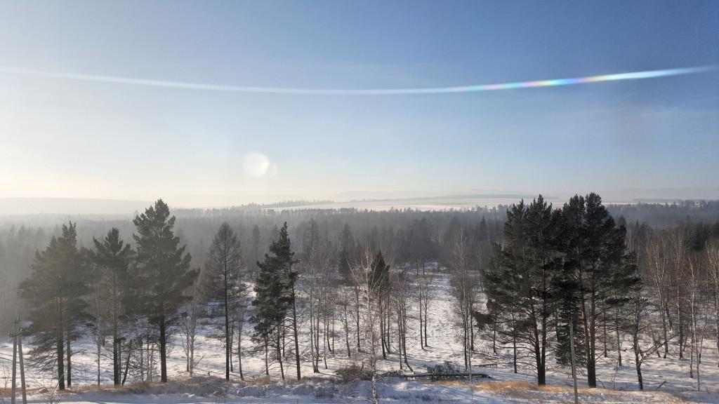 Russian Train View