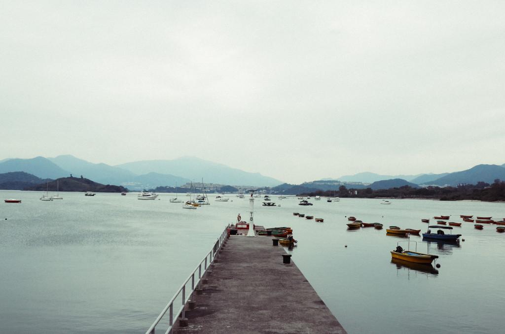 Outside AK's village. Photo: Alan Pang/The Loop HK.