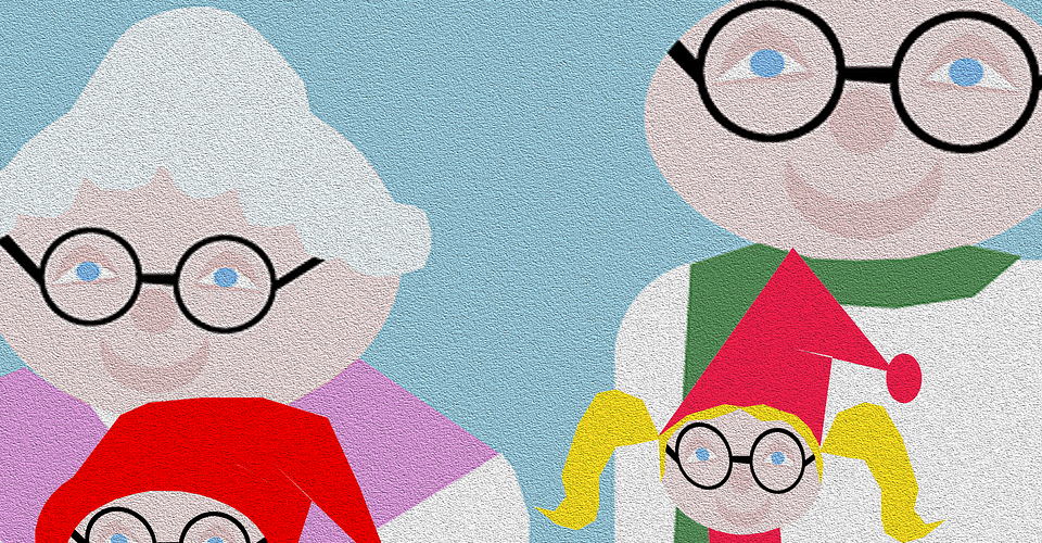 Love your grandparents. Credit: www.pixabay.com