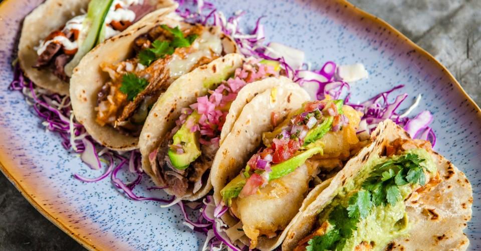Brickhouse taco platter
