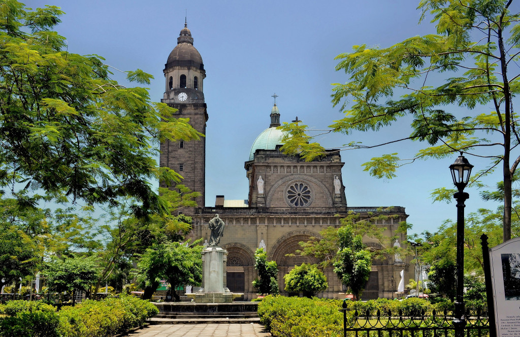 Manila Cathedral. Photo: Bren Buenaluz /Flickr