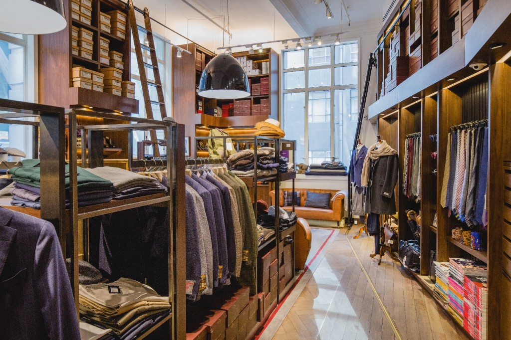 One of the Best Men's Tailors in Hong Kong: The Armoury, Pedder Street