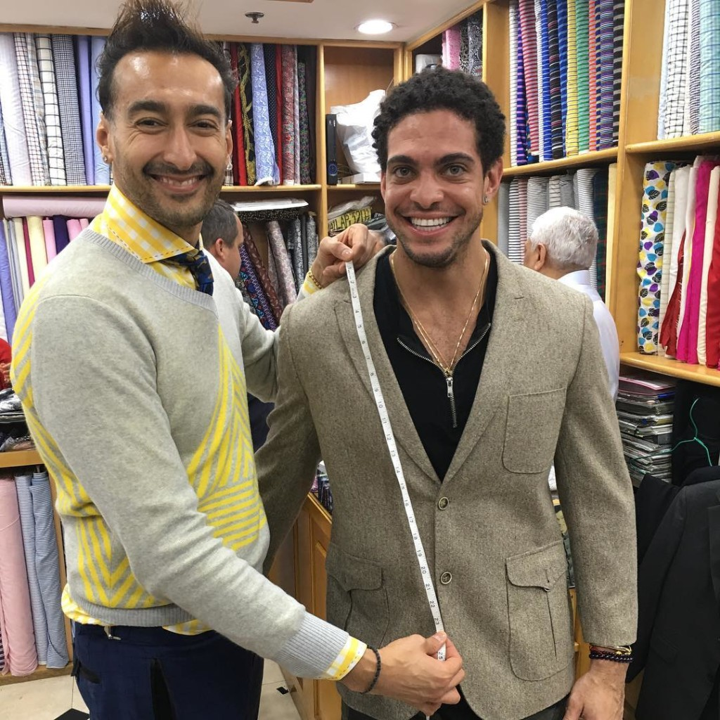 One of the best men's tailors in Hong Kong -Sam's Tailor