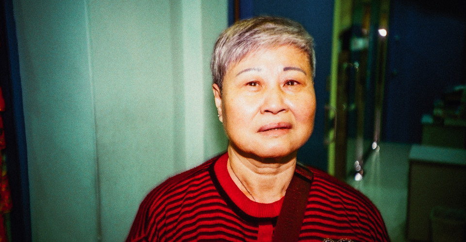 Ying Jie at a community event. Photo: Alan Pang/The Loop HK